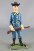 Starlux - Us Cavalry - Footed Rifle on front (ref TB7)