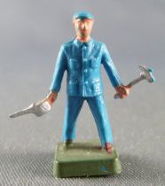 Starlux 20mm (1/87°) -  Station -  Workers with oil can & hammer (ref 3114)