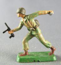 Starlux 30mm - Militaire - Commando Grenade & Mitraillette (réf 1332)
