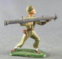 Starlux 30mm - Militaire - Fantassin Bazooka (réf 1080)