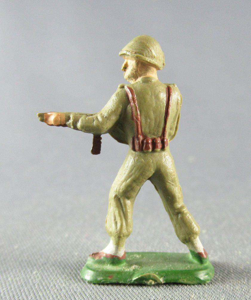 Starlux 30mm - Militaire - Fantassin Mitraillette (réf 1078) 2