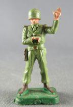 Starlux 30mm - Militaire - Fantassin Officier Chef de Tir (réf 1087)