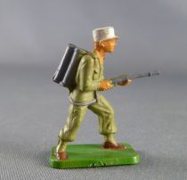 Starlux 30mm - Militaire - Légionnaire combattant lance-flamme (réf 1182)