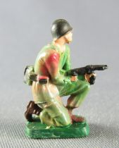 Starlux 30mm (1:55) - Army - Commando Kneeling Firing MP (ref 1330)