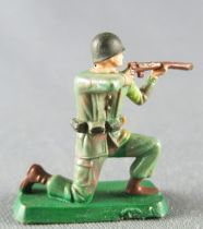 Starlux 30mm (1:55) - Army - Commando Kneeling Firing Rifle (ref 1324) 1