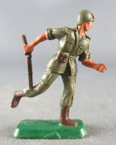 Starlux 30mm (1:55) - Army - Modern Army - Fighting Charging Rifle in Hand (ref M16)