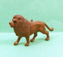 Starlux 35mm - Cirque Zoo - Animal Lion (réf MC 16) idéal complément Solido Verem