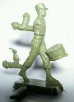 Starlux 35mm (1/50°) - Army - Legion marching drum (unpainted) (ref MLM 85)