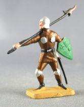 Starlux 40mm - Moyen Age - Piéton homme faux de guerre (réf R 6066)