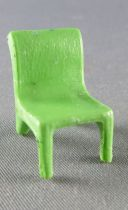Starlux 40mm - Train station - Green Chairs (ref G32  / FT2532)