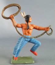 Starlux Michel - Indians - Series Luxe 55/56 - Footed Lasso (ref 2148)
