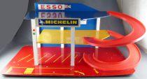 Starlux Plasticobois - Garage Esso Michelin - 2 Levels 62x30x25cm 1:43