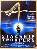 Starship Troopers - Affiche 40x60cm - Gaumont 1997