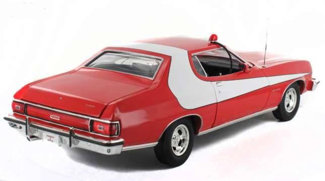 Starsky & Hutch - Greenlight - 1974 Ford Gran Torino 1/18ème (neuve en boite)