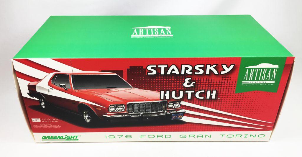 Starsky & Hutch - Greenlight - 1976 Ford Gran Torino 1:18 scale (mint in Box)