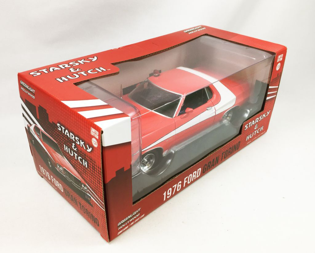 Starsky Hutch Greenlight Hollywood 124 Scale 1976 Ford Gran 1964 Torino Loading Zoom