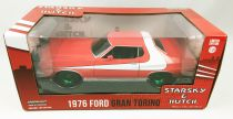 Starsky & Hutch - Greenlight Hollywood - 1976 Ford Gran Torino 1/24ème (Chase - Version roues vertes)