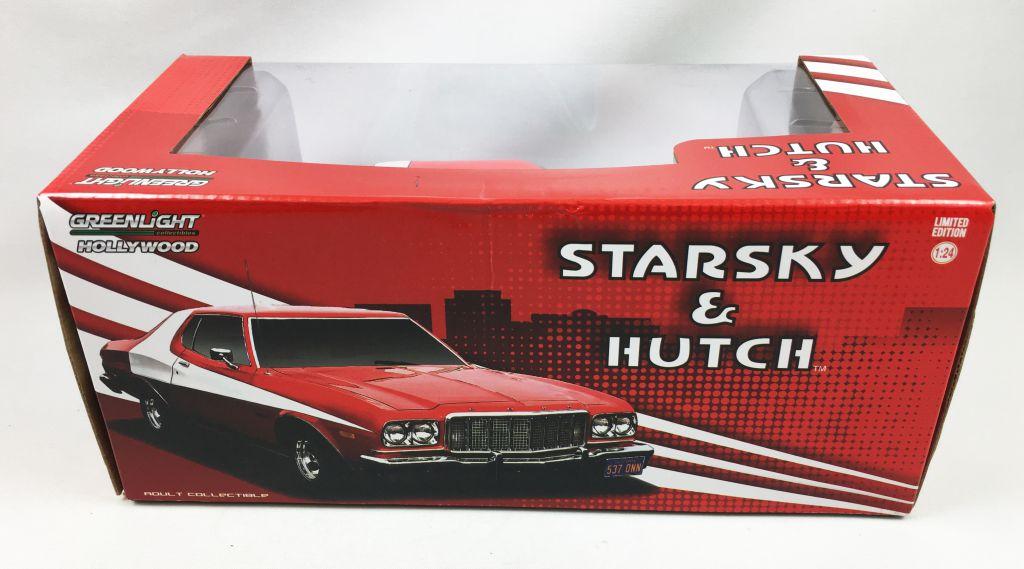Starsky & Hutch - Greenlight Hollywood - 1976 Ford Gran Torino 1/24ème (Diecast)