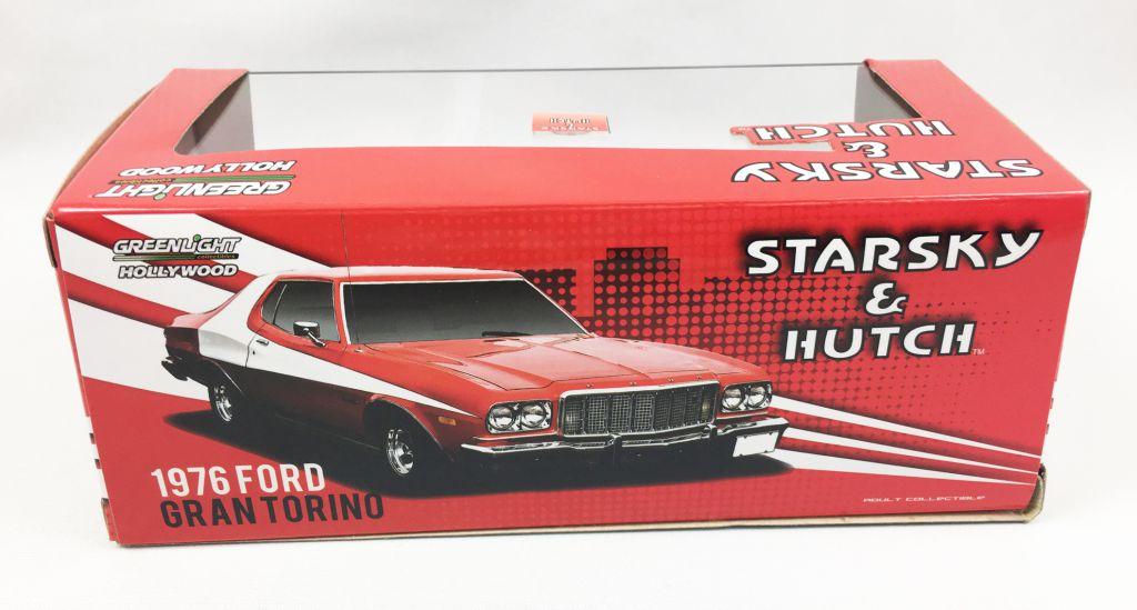 Starsky & Hutch - Greenlight Hollywood - Ford Gran Torino 1/24ème (Diecast)