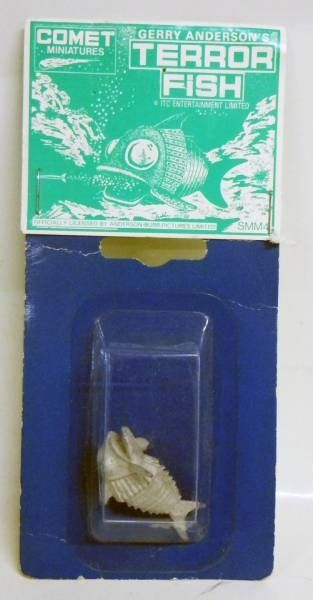 Stingray - Supermarionation Mini-Metals Comet Miniatures - Gerry Anderson\'s Terror Fish (neuf sous blister)