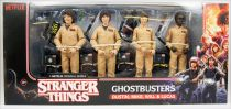 Stranger Things - McFarlane Toys - Ghostbusters Dustin, Mike, Will & Lucas - Figurines articulées 17cm