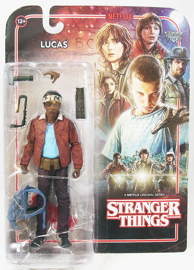 "Stranger Things - McFarlane Toys - Lucas 6"" scale action-figure"