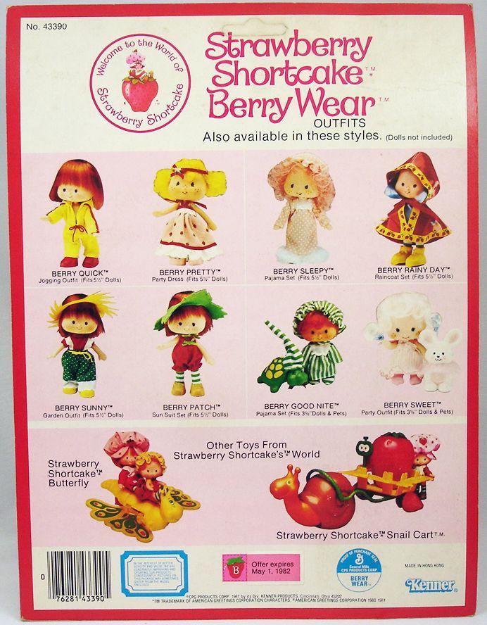 Charlotte aux fraises - Tenues Berry Sunny & Berry Patch (1)