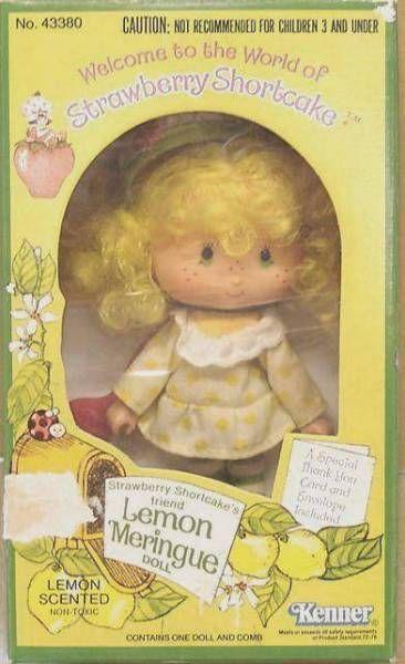 Strawberry Shortcake - Lemon Meringue