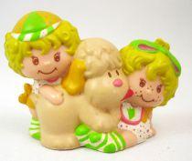 Strawberry shortcake - Miniatures - Lem & Ada with Sugar Woofer (loose)
