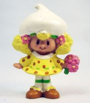 Charlotte aux fraises - Miniatures - Meringue Citron et son bouquet (loose)