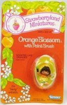 Strawberry shortcake - Miniatures - Orange Blossom with paint brush