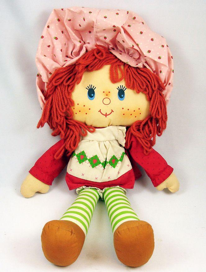 Charlotte aux Fraises - Peluche Strawberry Shortcake  Fraisinette loose