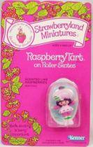 Strawberry shortcake - Pvc figure (Mint on card) - Raspberry Tart on Roller Skates