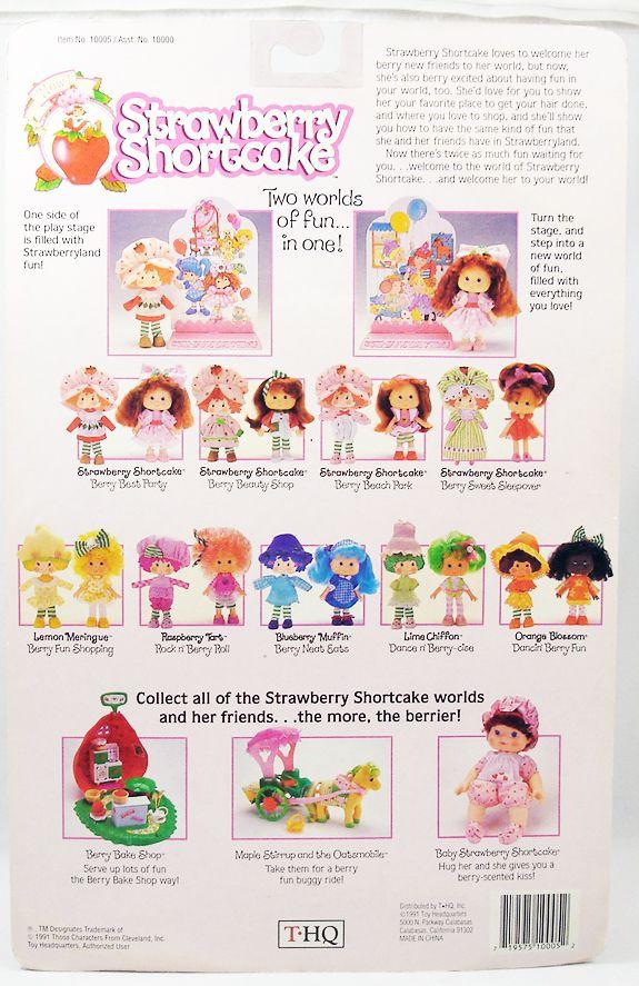 "Strawberry Shortcake THQ - Lemon Meringue \""Berry Fun Shopping\"""