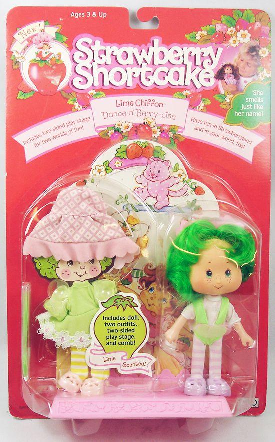 "Strawberry Shortcake THQ - Lime Chiffon \""Dance\'n Berry-cise\"""