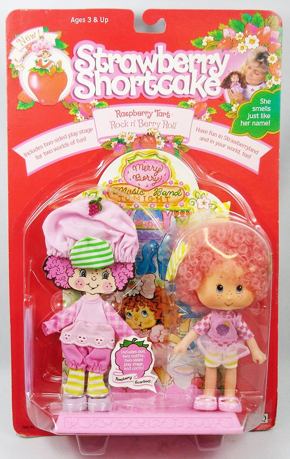 "Strawberry Shortcake THQ - Raspberry Tart \""Rock\'n Berry Roll\"""