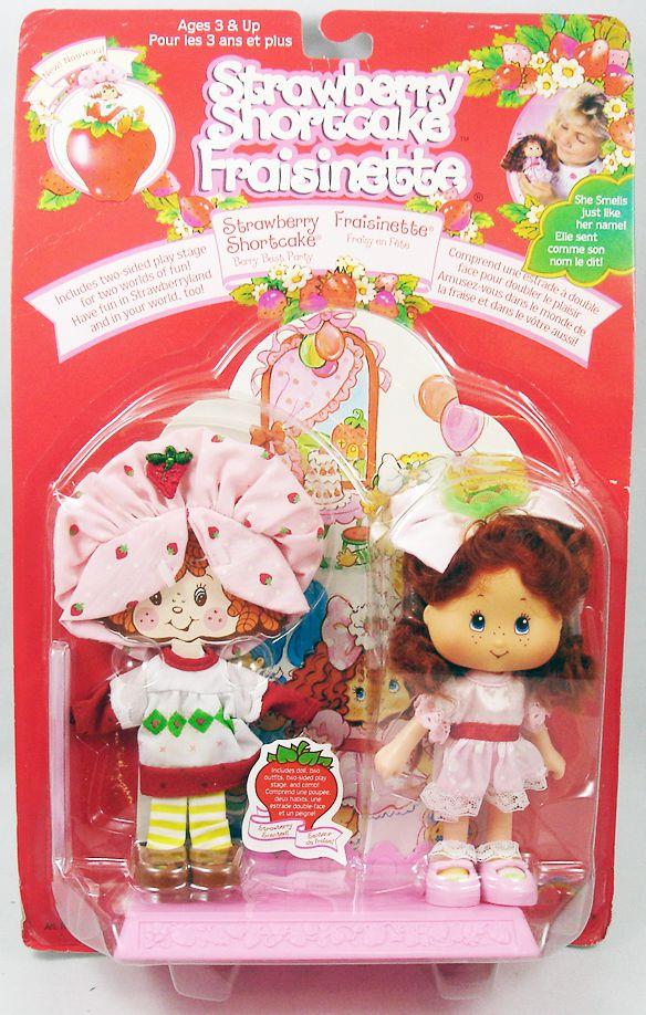 """Strawberry Shortcake THQ - Strawberry Shortcake \""""Berry Best Party\"""" (Fraisinette)"""