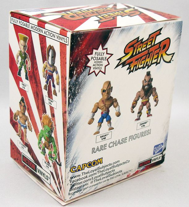 Street Fighter - Action-Vinyl The Loyal Subjects - Chun-Li