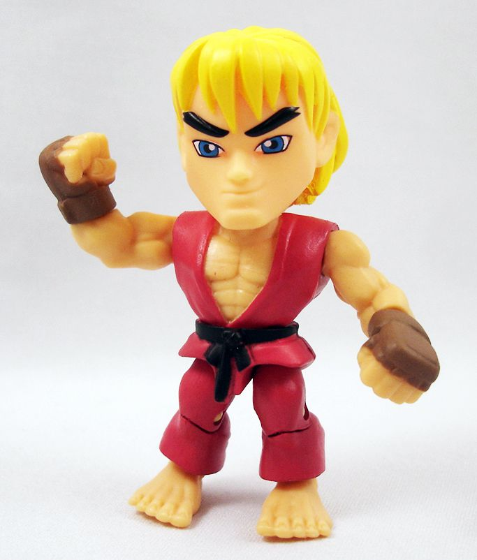 Street Fighter Action Vinyl The Loyal Subjects Ken