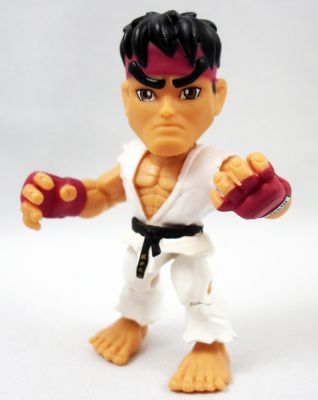 The Loyal Subjects X Street Fighter Vinyl Figure 30th Anniversary Lot Of 2 e-88