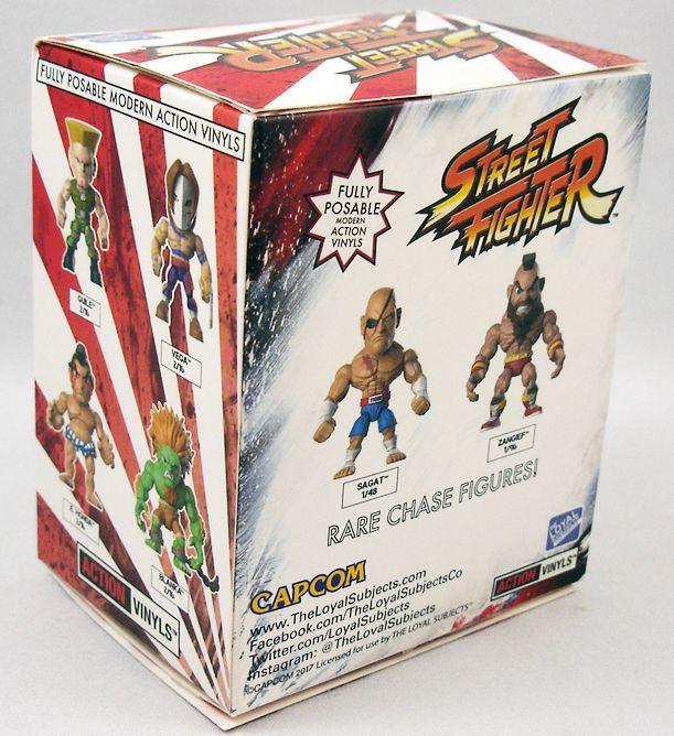 Street Fighter - Action-Vinyl The Loyal Subjects - Vega