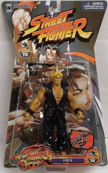 Street Fighter - Jazwares - Ken (Player 2)