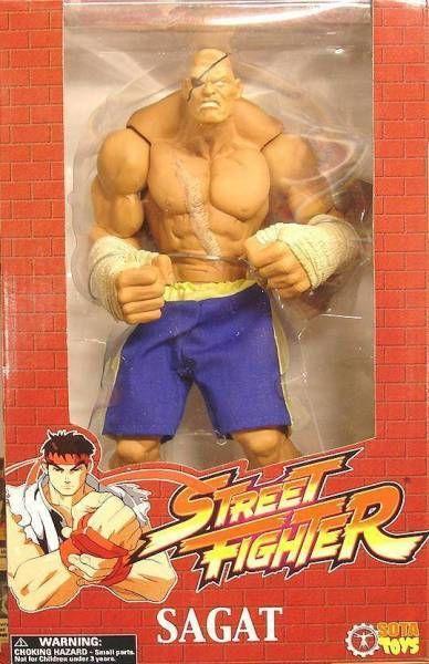 Street Fighter Sota Toys Sagat 10 Roto Cast Figure