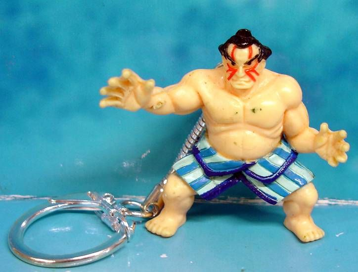 Street Fighter II - Figurine porte clé E. Honda - Capcom