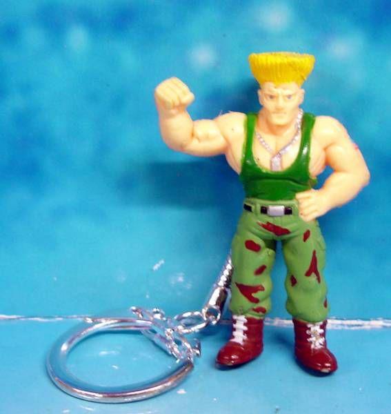 Street Fighter II - Figurine porte clé Guile - Capcom