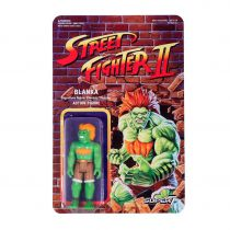 Street Fighter II - Super7 - Figurine Re-Action Blanka