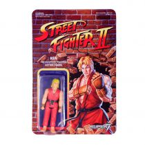 Street Fighter II - Super7 - Figurine Re-Action Ken