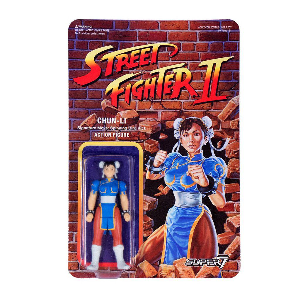 Street Fighter Ii Super7 Re Action Figure Chun Li