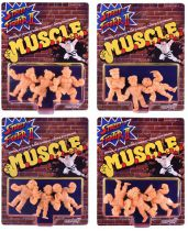 Street Fighter II - Super7 - Set de 12 figurines M.U.S.C.L.E.