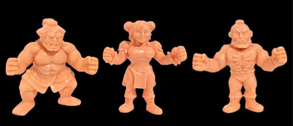 Street Fighter II - Super7 - Set de 12 figurines M.U.S.C.L.E.